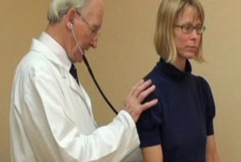video – checkup at the doctor