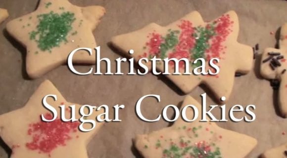 video-christmas cookies