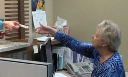 video – receptionist