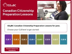 June Canadian Citizenship Preparation Lessons